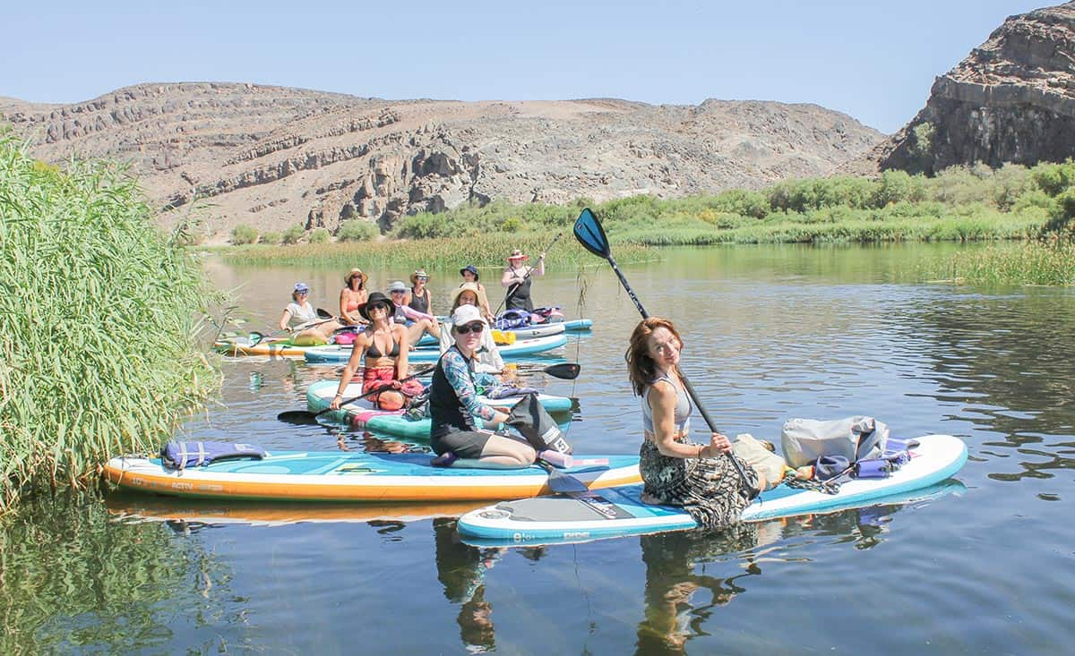 Wildbird Orange River Sup Yoga Expedition